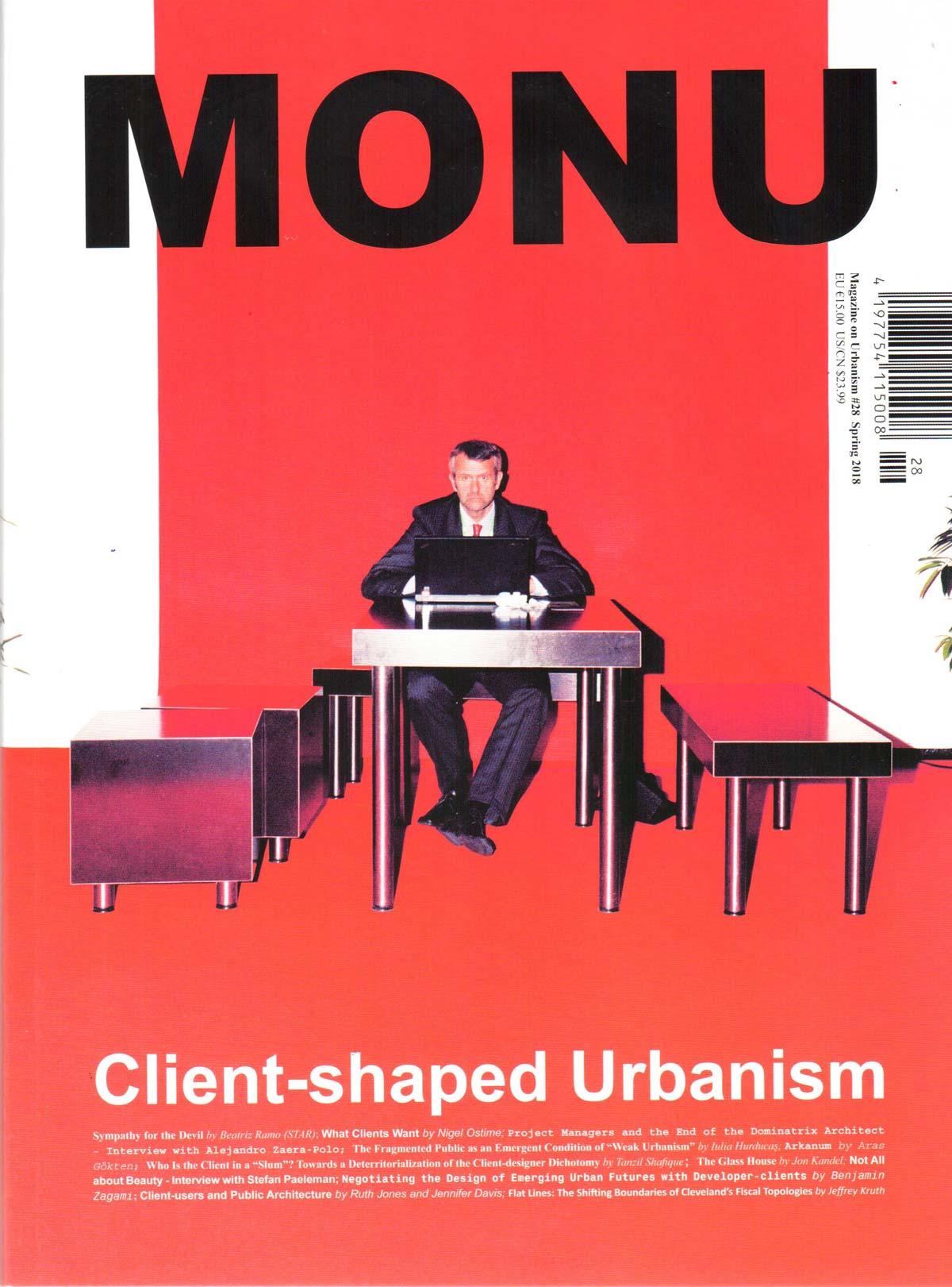 MONU Magazine nr.28 : Client-shaped Urbanism