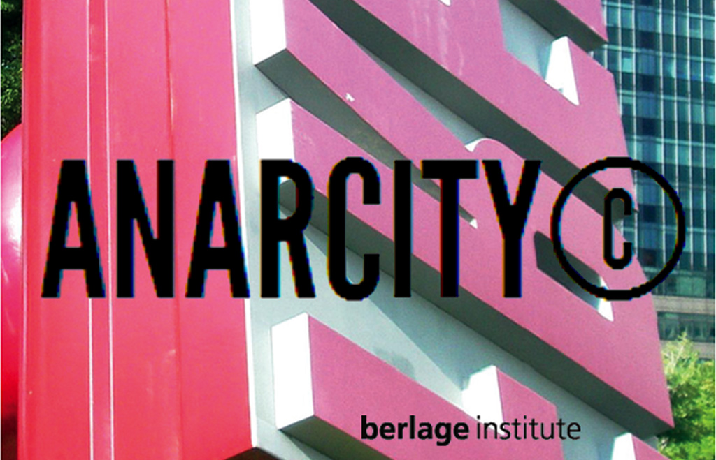 Guest Critic at Berlage Institute: ANARCITY© Studio