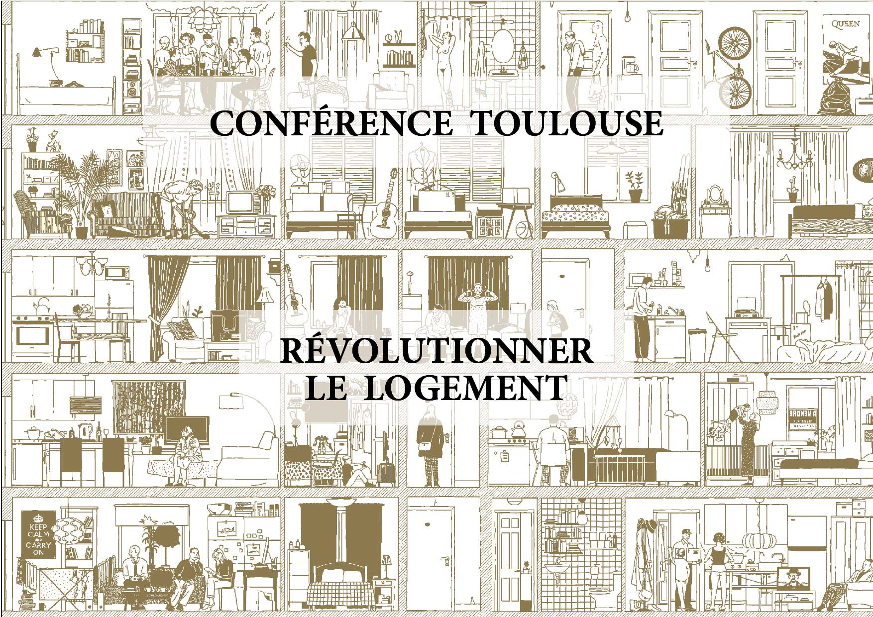 """Beatriz Ramo will give a Lecture entitled: """"Révolutionner le Logement"""" at the AMO Midi Pyrénées in Toulouse, France"""