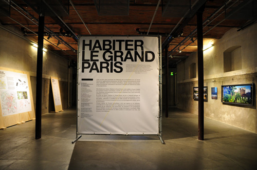 « Co-Résidence : Habiter en Grand » in the  Exhibition « Habiter le Grand Paris » at the centre 104 in Paris