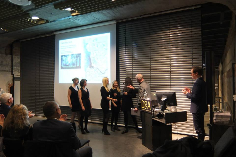Knut Eirik Dahl and Beatriz Ramo Conduct the Prize Ceremony of Europan Norway in Oslo