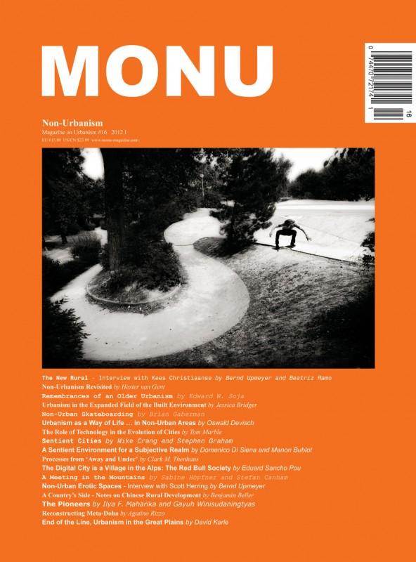 MONU magazine on Urbanism nr.16 Non Urbanism