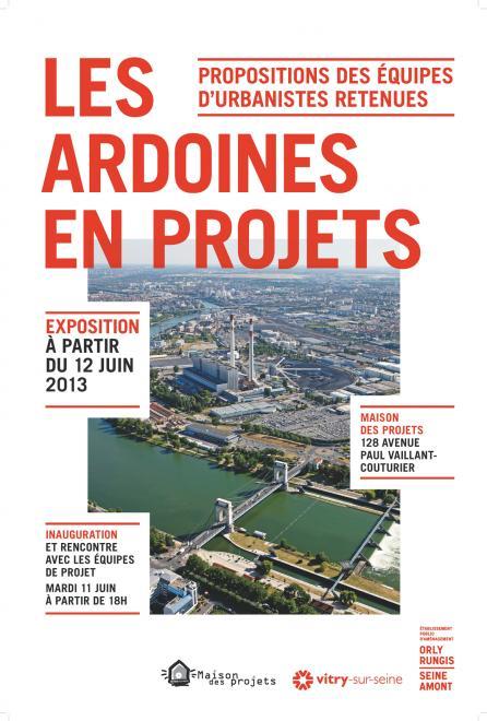 « Les Ardoines en Projets » : Exibition at « la Maison des Projets de Vitry-sur-Seine »
