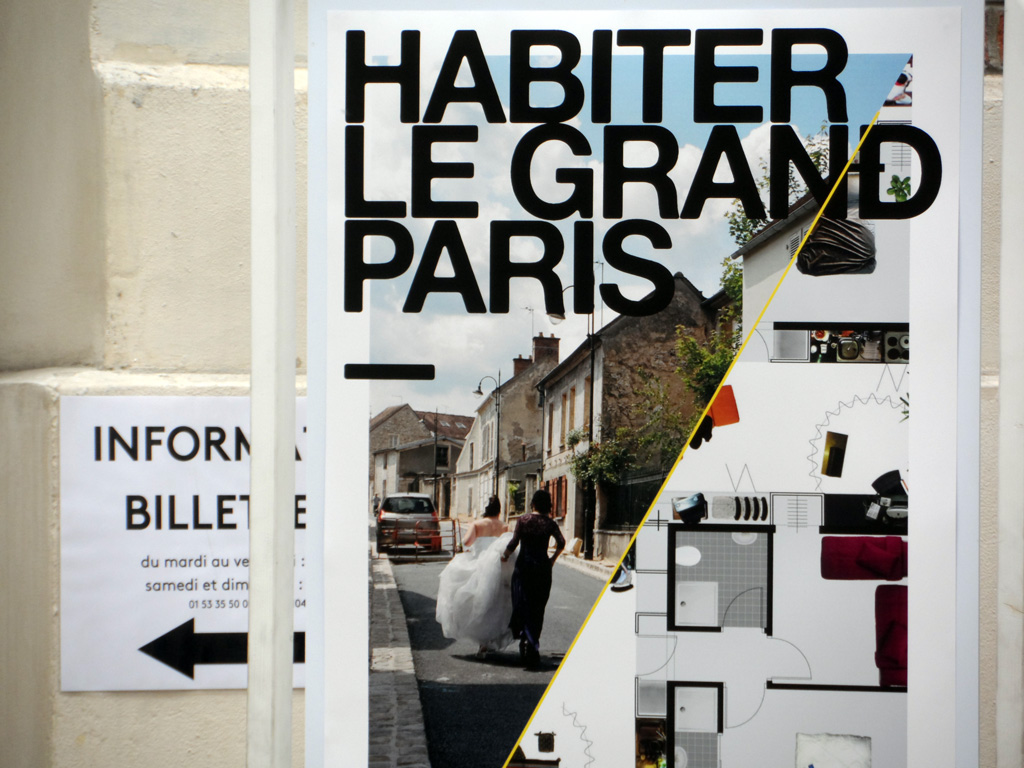 Beatriz Ramo at the Seminar « Habiter le Grand Paris » at the Centre 104 in Paris