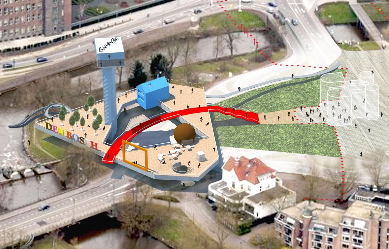 Heetmanplein-Den Bosch, Mijnplein
