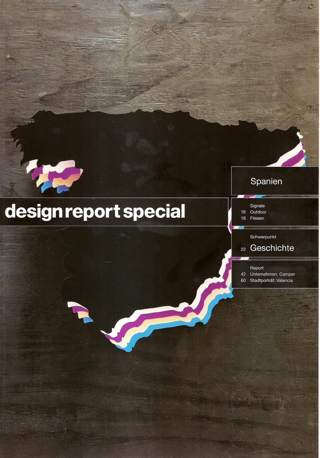 Design Report Magazine – Spanien