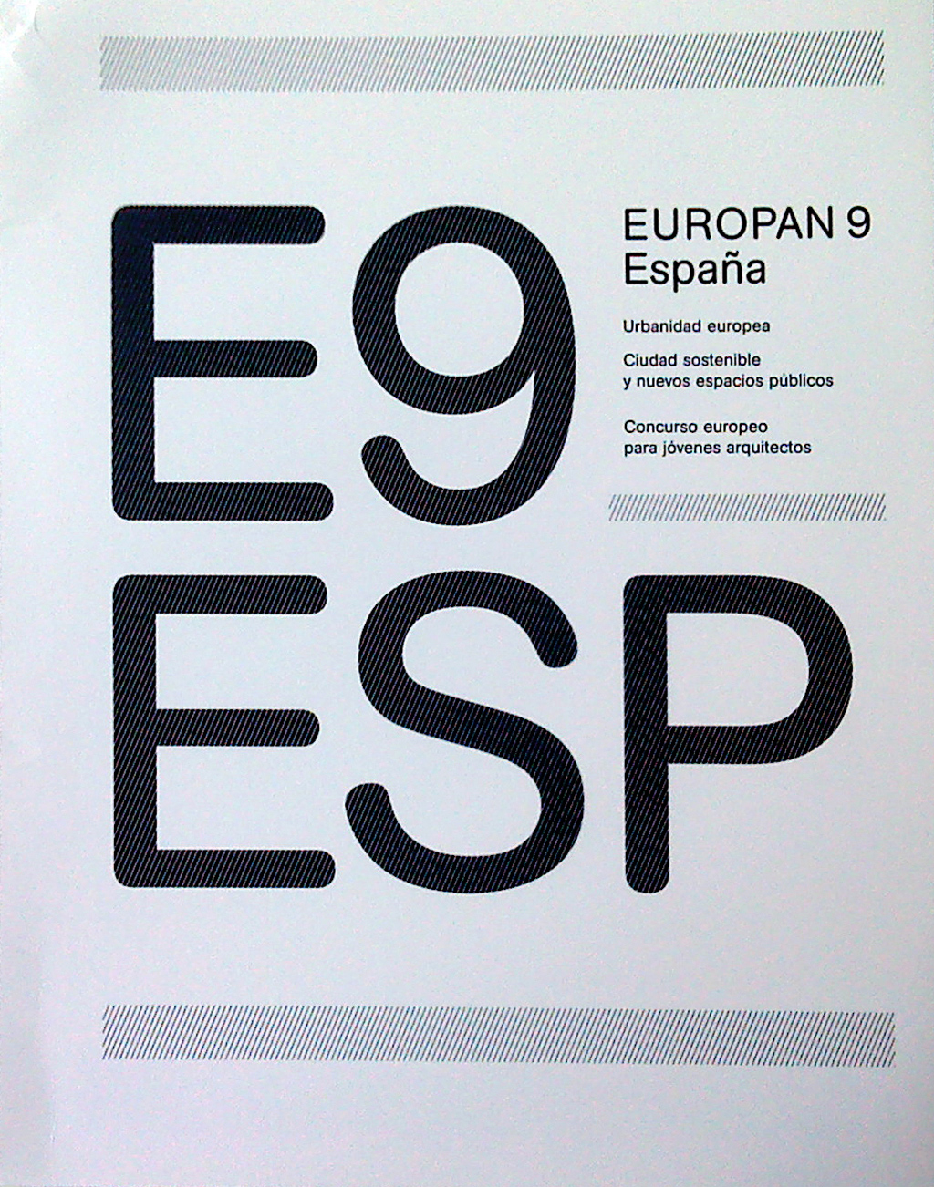 Europan 9 Spain Publication: European Urbanity
