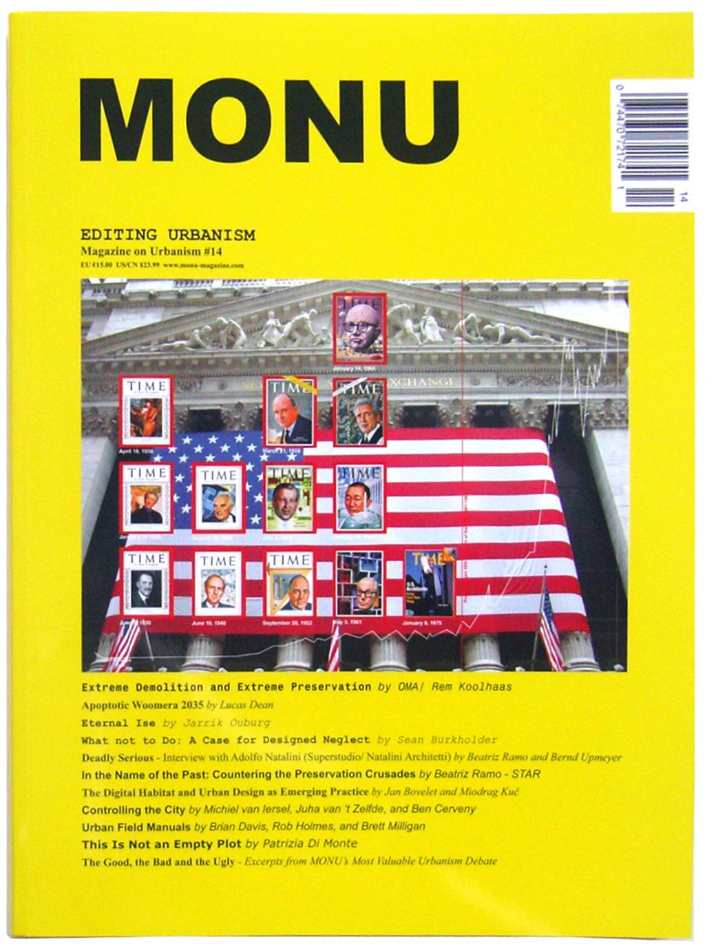 MONU magazine on urbanism 14 – Editing Urbanism