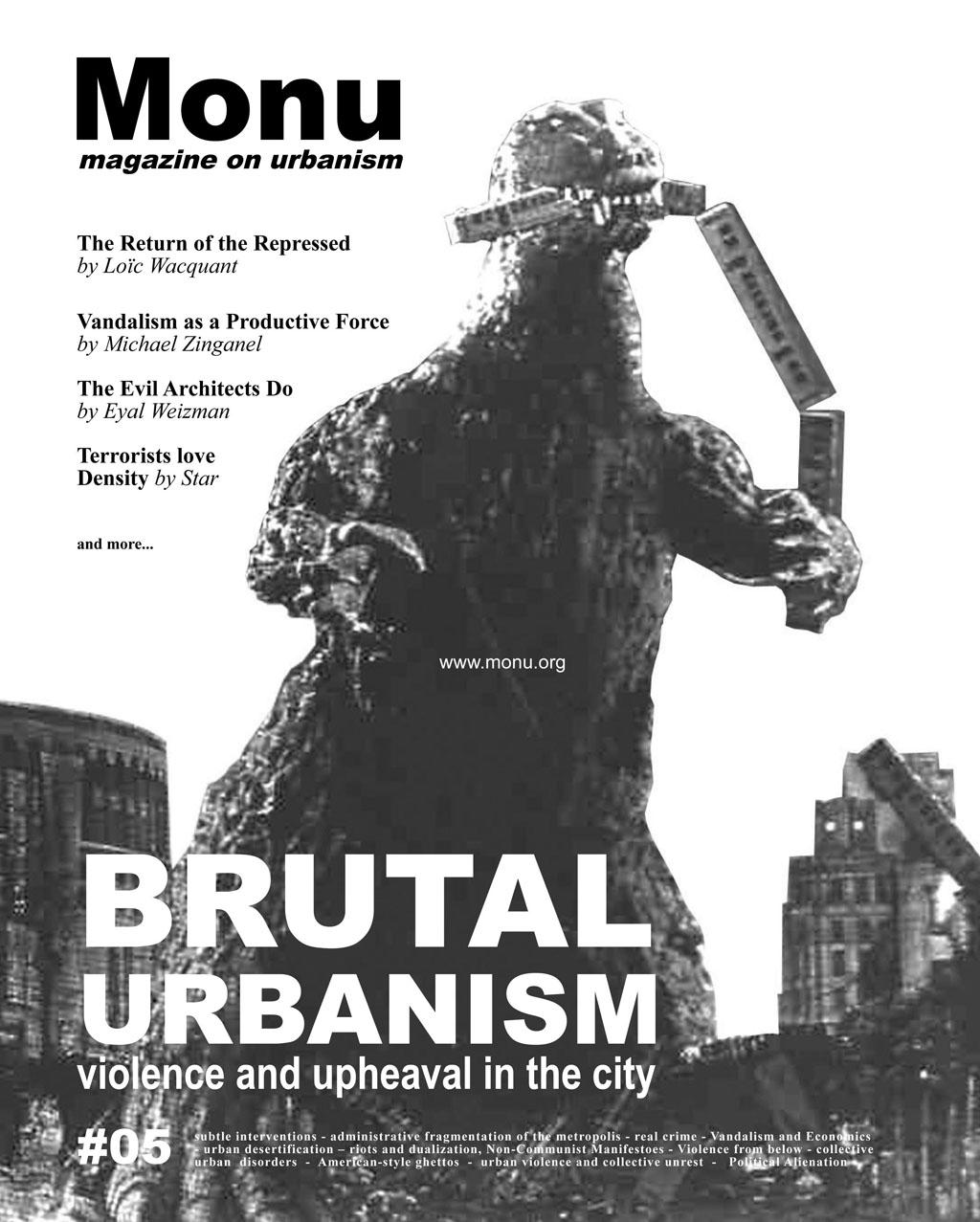 MONU magazine on urbanism 5 – Brutal Urbanism