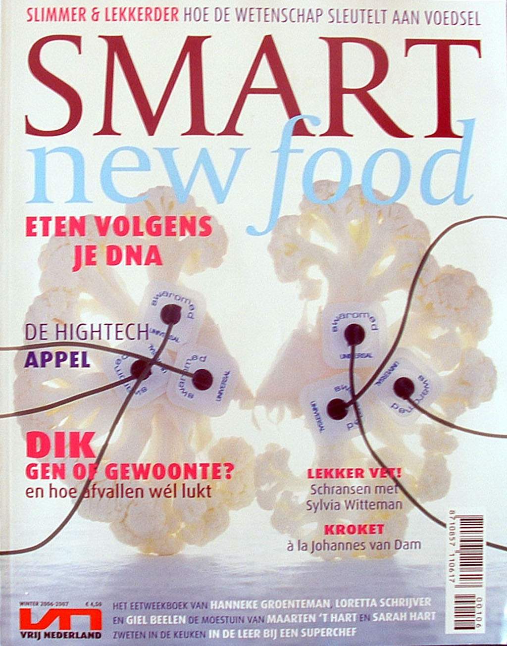 Smart New Food – Winter 2006-2007 – Vrij Nederland