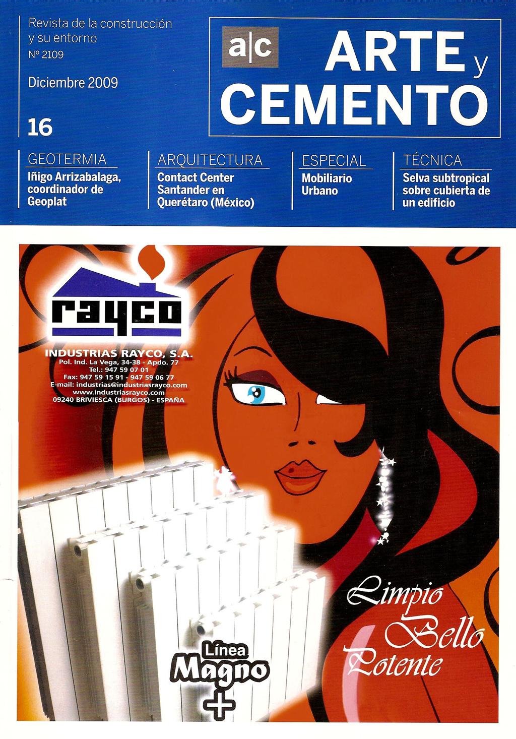 Arte y Cemento 2109