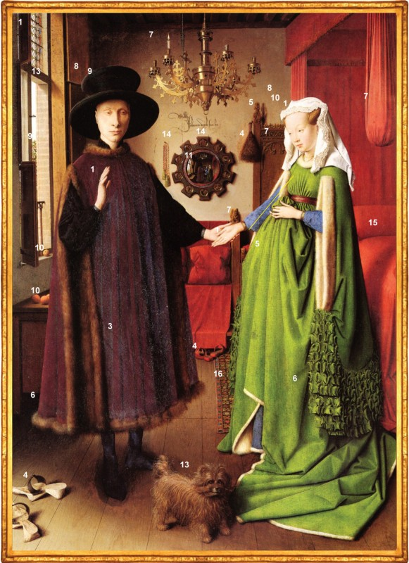 Jan Van Eyck Arnolfini Wedding Photography The Portrait