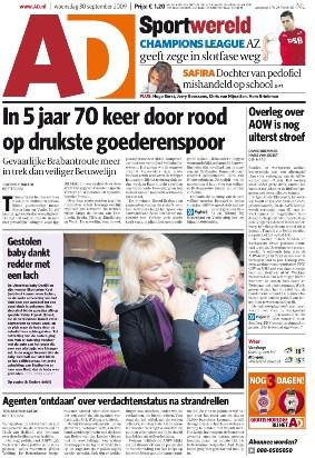 AD Algeem Dagblad 23-07-09