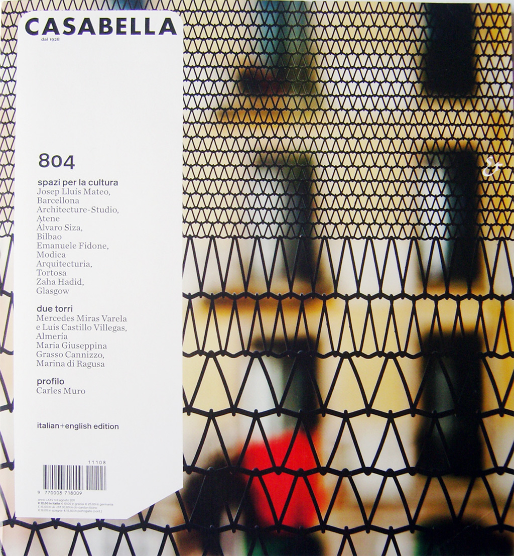 STAR at the Editoriale at CASABELLA 804