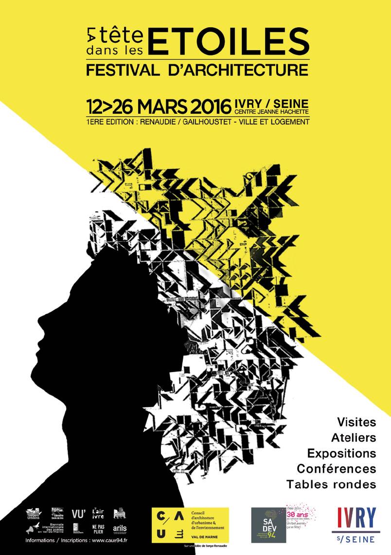 STAR at the Festival d'Architecture ''La Tête Dans Les Etoiles'' in Ivry-Sur-Seine, Grand Paris
