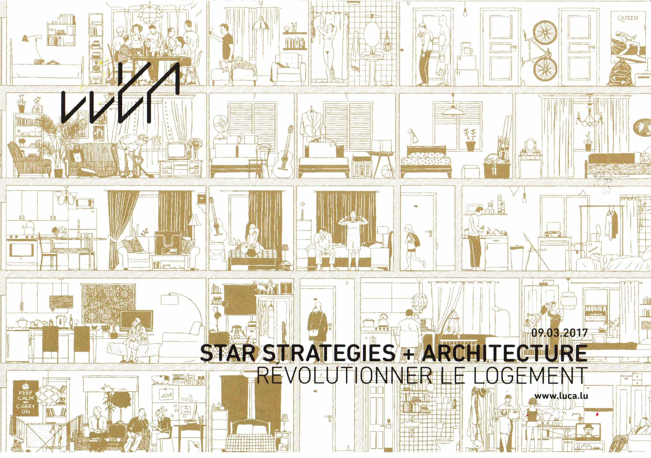 STAR Public Lecture at the LUCA –Luxembourg Centre for Architecture in Luxembourg City