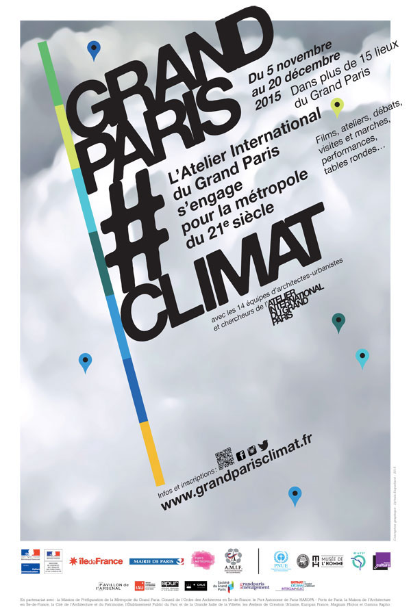 Beatriz Ramo Presentation at the Launch of the AIGP event: Grand Paris Climat at the Maison de l'Architecture in Paris