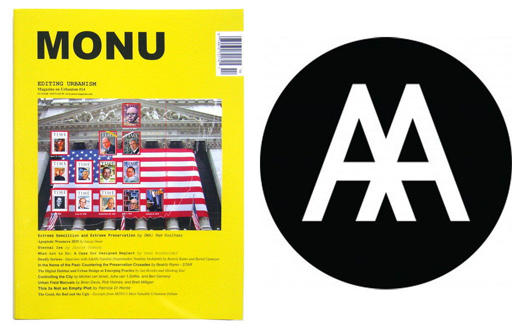 MONU at Archizines Exhibition at AA in London