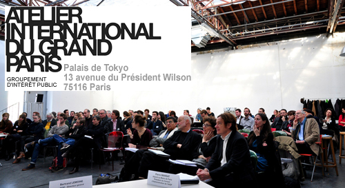 "Seminar of the AIGP on the Topic ""Habiter le Grand Paris"" at the Palais de Tokyo, Paris"