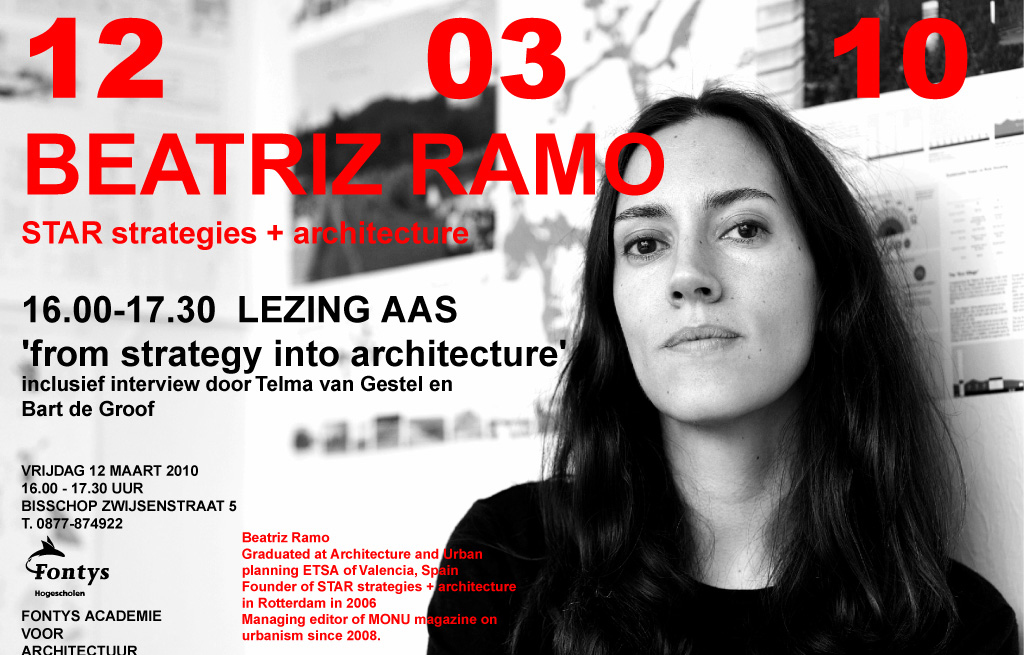 Lecture: From Strategy to Architecture, at AAS, Tilburg